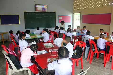 """เรียนภาษาไทย-ติวO-NETสังคม : มิติใหม่การศึกษา ... เดินหน้า TEPE Online พัฒนา """"ครู"""" สนับสนุน """"ครูตู้"""" พัฒนาเด็กไทยอย่างเท่าเทียม"""