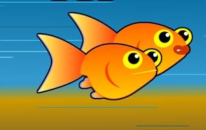 เกมช่วยปลาว่ายน้ำ