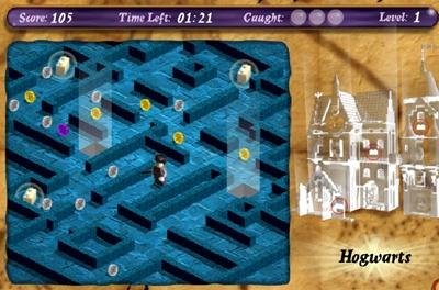 เกมส์แฮรี่พอตเตอร์ในเขาวงกต
