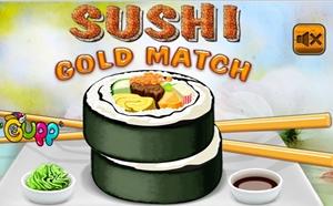 เกมส์จับคู่ SuShi Gold Match