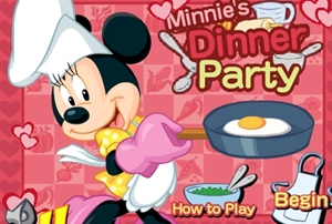 เกมส์ดินเนอร์ปาร์ตี้กับมินนี่