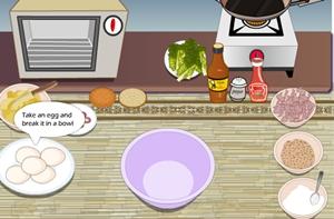 เกมส์ทำเบอร์เกอร์ไก่