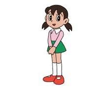 มินาโมโตะ ชิซุกะ : ตัวละครจากการ์ตูนโดราเอมอน