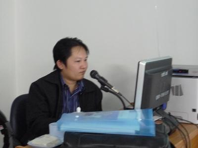 อบรมการพัฒนาเว็บไซต์ด้วย mambo ให้กับบุคลากรของวิทยาลัยชุมชนยโสธร