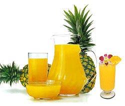 สับปะรดมีเอ็นไซม์ช่วยย่อยจากธรรมชาติ