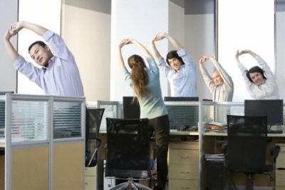 ออกกำลังกายคลายเครียดในออฟฟิศ เหนื่อยนักก็พักหน่อย
