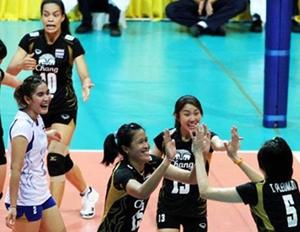 ชมย้อนหลัง วอลเล่ย์บอลสาวไทยชนะญี่ปุ่น 3-0 เซต คว้าแชมป์เอเชีย 2013 เมื่อวันที่ 21 ก.ย.56