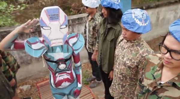 ดังใหญ่! คลิปล้อ iron man 3 ของแก๊งเฟดเฟ่ ฮาแล้วทั่วโลก