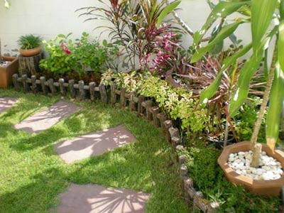 หลักในการออกแบบสวน