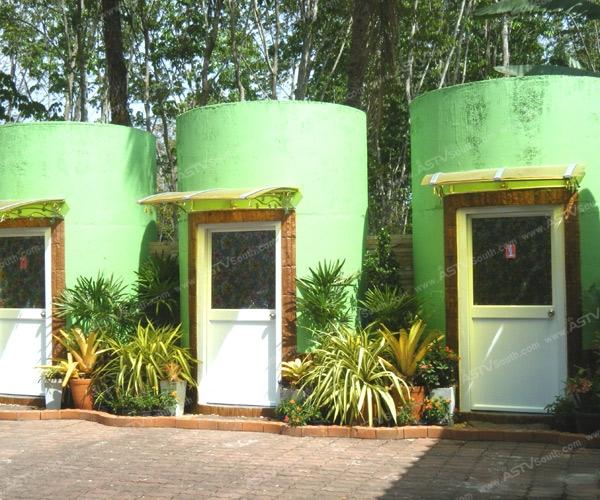 ปรับแท็งก์น้ำฝนเก่าในโรงเรียนให้เป็นห้องน้ำ ไอเดียเจ๋งๆ ที่โรงเรียนวัดควนสีนวล