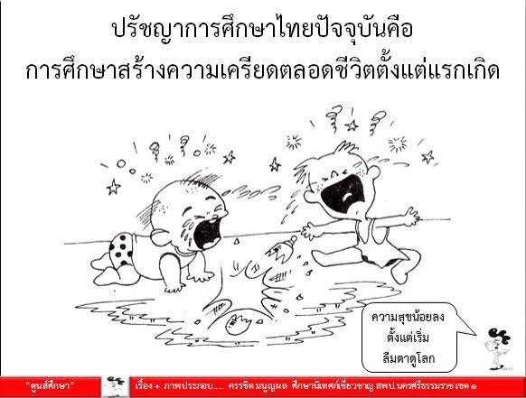 ตูนส์ศึกษา : ปรัชญาการศึกษาไทยในปัจจุบันคือ?