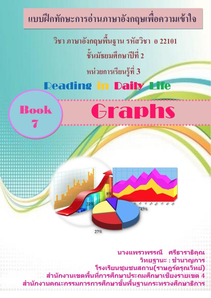 แบบฝึกทักษะการอ่านภาษาอังกฤษเพื่อความเข้าใจ Reading in Daily life ผลงานครูแพรวพรรณี ศรีธาราธิคุณ