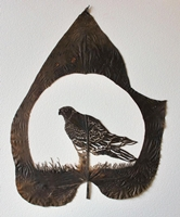 Cut-Away Leaf Art ตัดใบไม้ให้เป็นงานอาร์ต