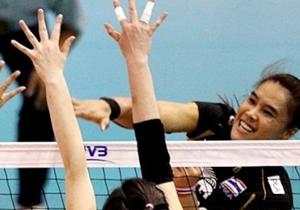 ชมย้อนหลังวอลเล่ย์บอลสาวไทยชนะญี่ปุ่น 3-1เซตเมื่อ 16ก.ย.56
