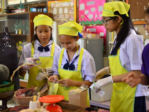 สพม.34( เชียงใหม่-แม่ฮ่องสอน) ประกวดกิจกรรมการส่งเสริม ทักษะอาชีพในโรงเรียน