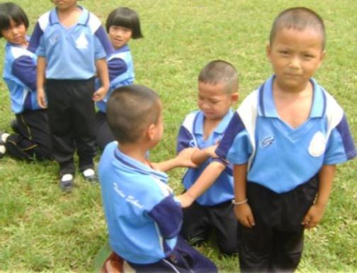 แผนการจัดกิจกรรมกลางแจ้ง โดยใช้ชุดเกมการละเล่นเด็กไทย (อนุบาล2) ผลงานครูอรุณศรี  ตุ่นแก้ว