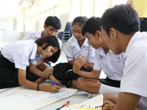 สพม.14 อบรมเชิงปฏิบัติการการบริหารจัดการขยะและสิ่งแวดล้อมในสถานศึกษาและหน่วยงาน