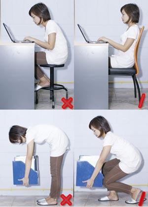 8 วิธีถนอมหลังห่างไกลอาการปวด
