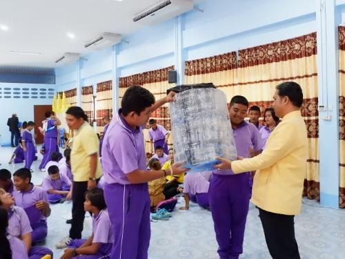 นักเรียน ร.ร.ราชประชานุเคราะห์ 6 แปลงขยะให้เป็นทุนการเรียนรู้ ทุนการศึกษา