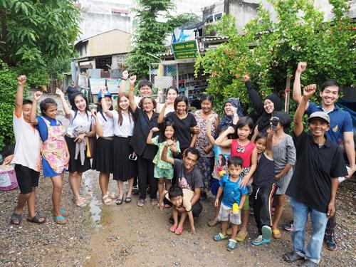 """""""กองทุนขยะสร้างสุข"""" พัฒนา """"คน"""" สร้างชุมชนป้อมหกให้น่าอยู่"""