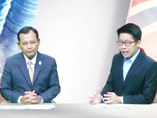 """รายการ """"เดินหน้าประเทศไทย"""" 3 มกราคม 2559 แถลงผลงานกระทรวงศึกษาธิการ"""