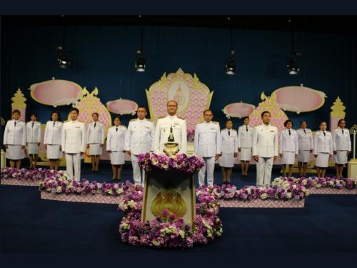 สพป.ภูเก็ต ร่วม บันทึกเทปถวายพระพรสมเด็จพระนางเจ้าสุทิดา พัชรสุธาพิมลลักษณ พระบรมราชินี