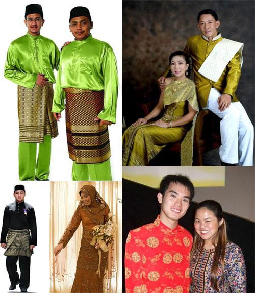 ชุดประจำชาติต่างๆ ในอาเซียน