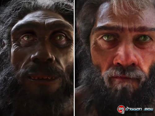 ดูวิวัฒนาการใบหน้าบรรพบุรุษสู่มนุษย์ยุคใหม่ - 6 ล้านปีใน 1 นาที