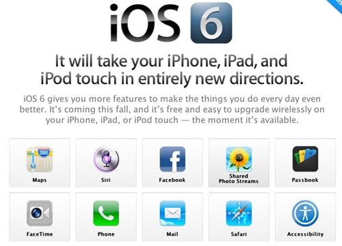 iOS 6 มีอะไรใหม่บ้าง?