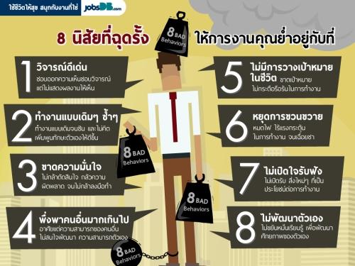 8 นิสัยที่ฉุดให้การทำงานของคุณย่ำอยู่กับที่