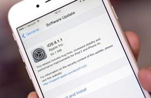 แอปเปิลออกอัพเดท iOS 8.1.1 เพิ่มความเร็วให้ iPhone 4s และ iPad 2