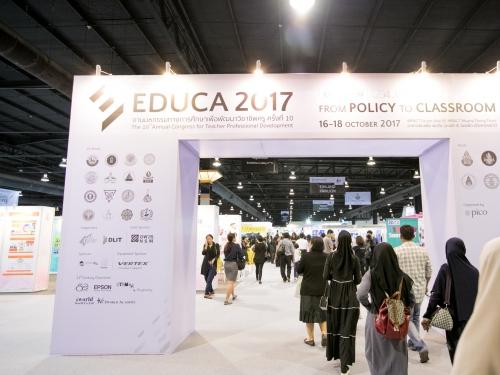 ปิโก ผนึกพันธมิตรด้านการศึกษา เปิดงาน EDUCA 2017