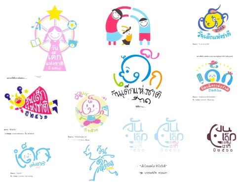 ประกาศผลงานผู้เข้ารอบสุดท้าย 10 ผลงานในการประกวดตราสัญลักษณ์(โลโก้) วันเด็กแห่งชาติ ประจำปี 2561