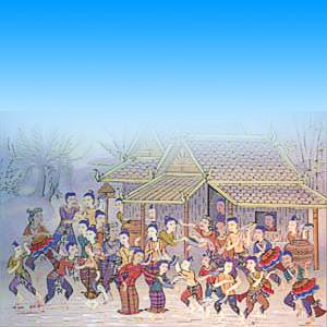 ประเพณีวันขึ้นปีใหม่ของไทย