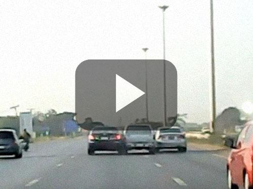 เตือนภัย! แก๊งตบทรัพย์หลอกขับรถชนเรียกค่าเสียหาย