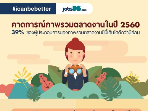 จ๊อบส์ ดีบี ประเทศไทย เผยมุมมองผู้หางานและนายจ้างกับภาวะการจ้างงาน เปรียบเทียบประเทศไทยกับอาเซียน