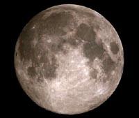 รูปร่างลักษณะของดวงจันทร์บนฟ้า