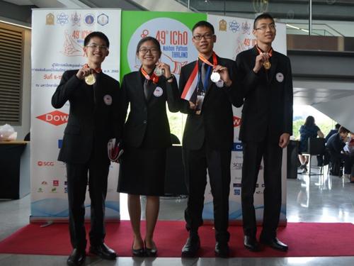 เด็กไทยคว้า 2 ทอง 2 เงิน แข่งเคมีโอลิมปิคระหว่างประเทศ ครั้งที่ 49