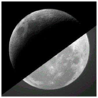 ปรากฏการณ์ Earth Shine คืออะไร