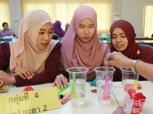 สพป.ยะลา เขต 2 อบรมระบบทางไกล โครงการบ้านนักวิทยาศาตร์น้อย ประเทศไทย