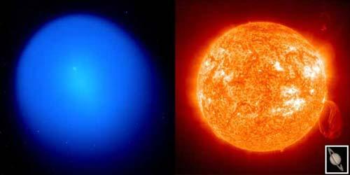 """ดาวหาง """"โฮล์มส"""" ระเหิดใหญ่กว่าดวงอาทิตย์แล้ว"""
