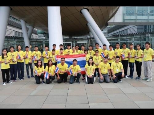 เด็กไทยกวาดรางวัล หุ่นยนต์นานาชาติที่ฮ่องกง