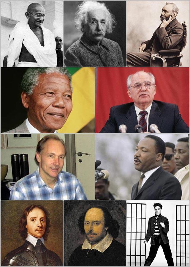 10 บุคคลสำคัญ ผู้ทรงอิทธิพลของโลก