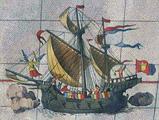 เรือวิกตอเรีย เป็นเรือลำแรกที่เดินทางรอบโลกได้สำเร็จ