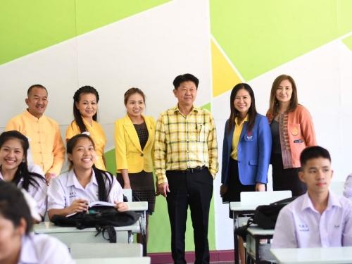 สพม.34 นิเทศติดตามการเตรียมความพร้อมก่อนเปิดภาคเรียนที่ 1 ปีการศึกษา 2562