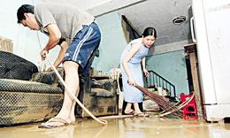 การซ่อมแซมบ้านหลังน้ำลด