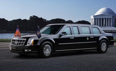 ลีมูซีนรถประจำตำแหน่งผู้นำสหรัฐฯ